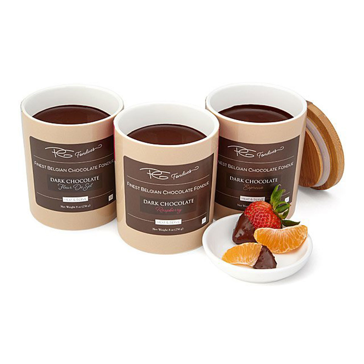 mini chocolate fondue sets