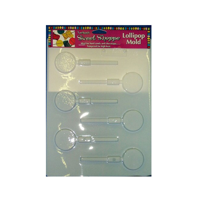"1.5"" plastic lollipop molds"