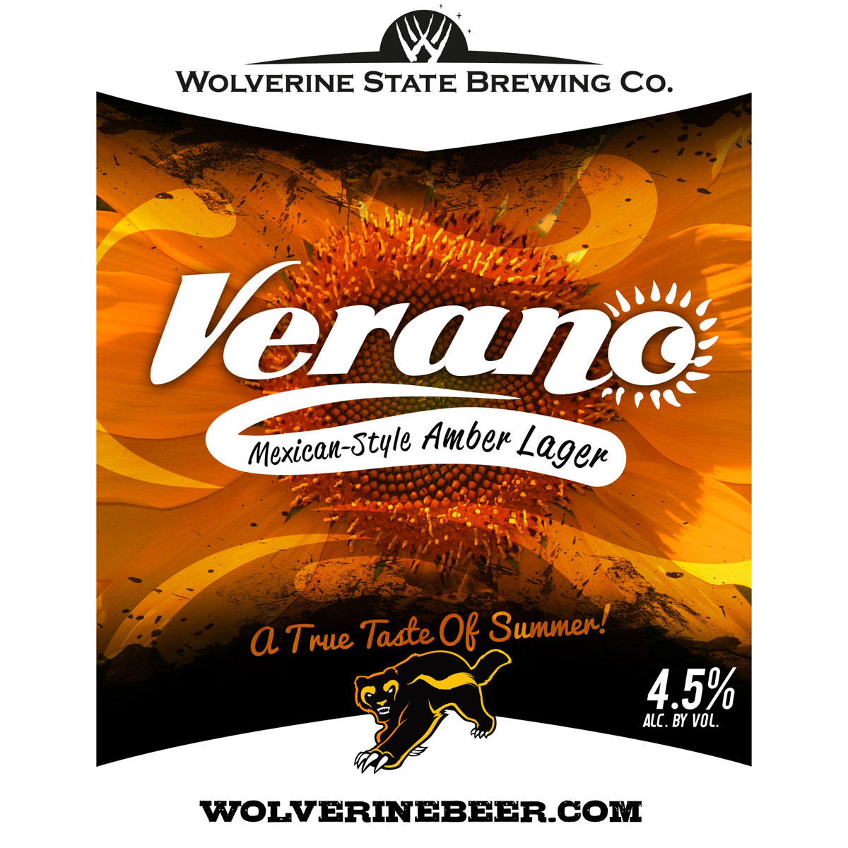 Michigan: Wolverine State Verano Mexican-Style Amber Lager