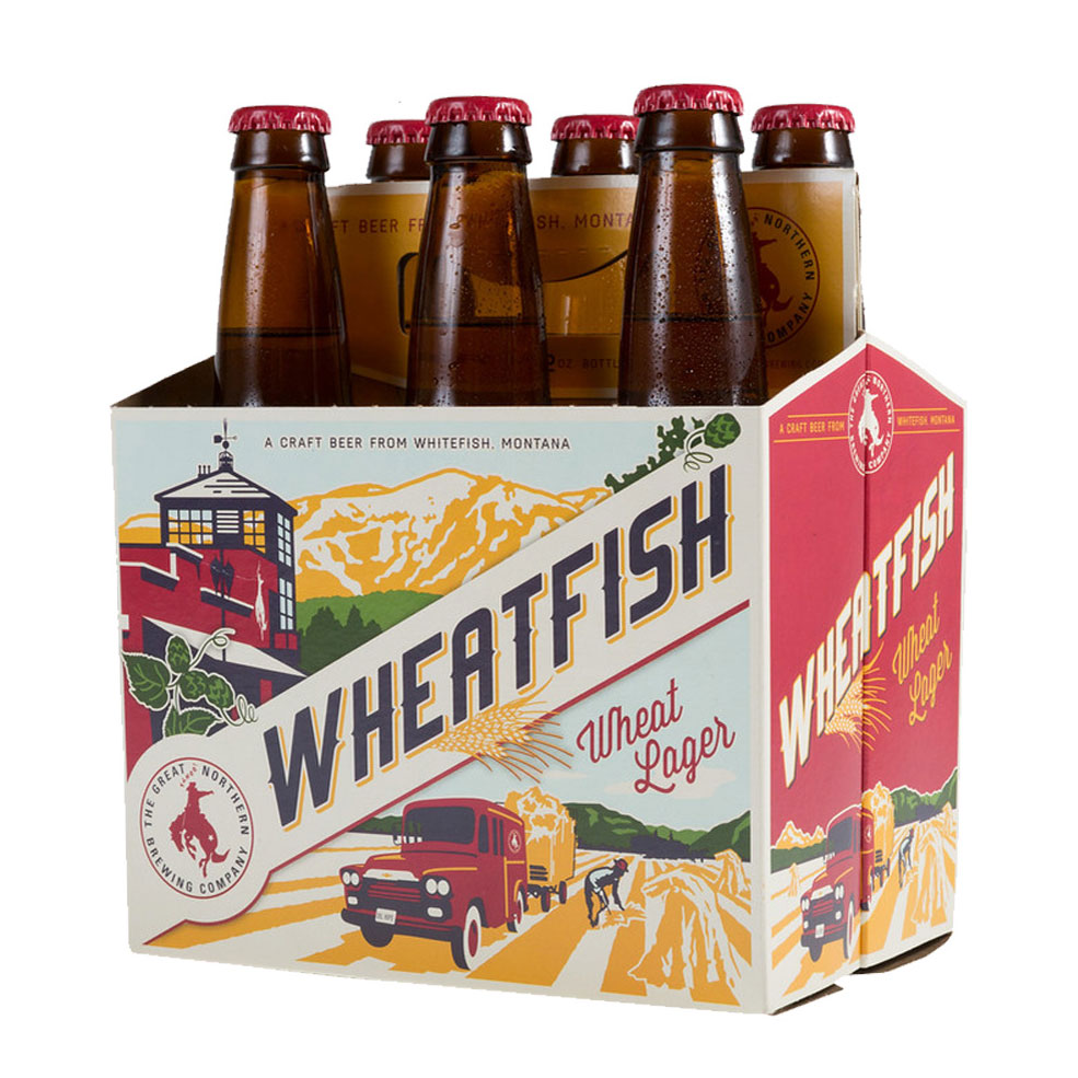 Montana: Great Nothern Wheatfish Wheat Lager