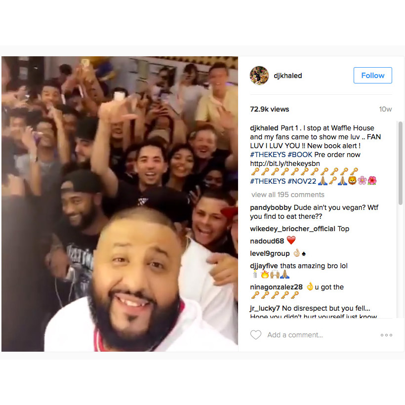 DJ Khaled, Sturgill Simpson, and Stephen Colbert crashed Waffle House.
