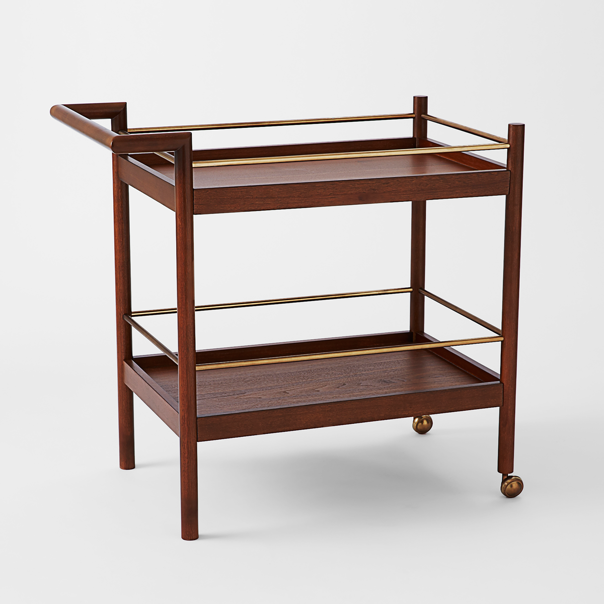 West Elm Mid-Century Bar Cart