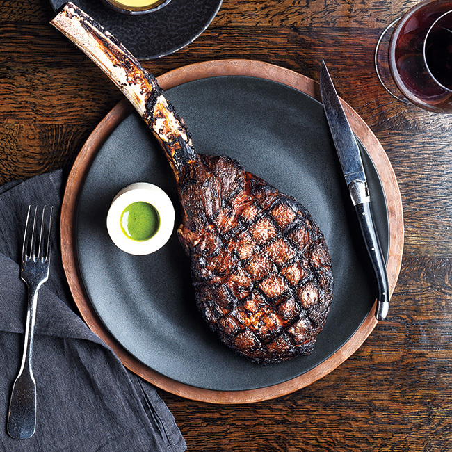Jean-Georges: Angus 300 Tomahawk Chop