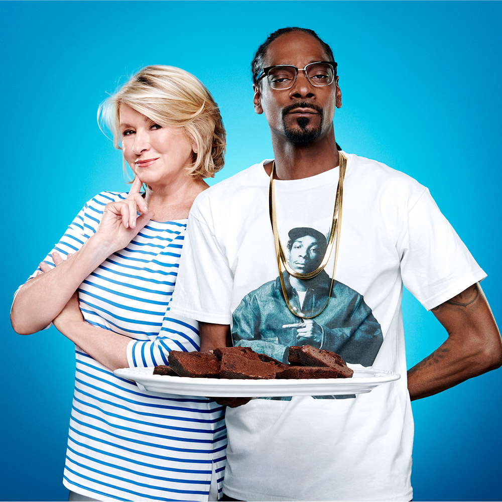 Snoop Dogg and Martha Stewart became VH1's most unlikely power couple.