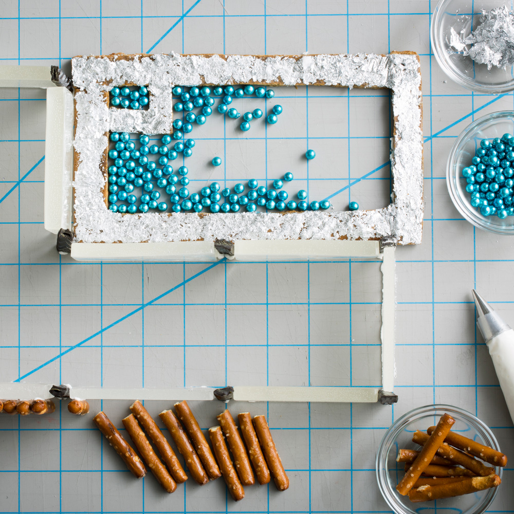 Modernist Gingerbread House