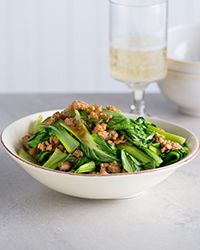 Teriyaki Chicken Bok Choy