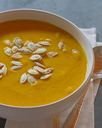 Day 27: Creamy Vegan Pumpkin Soup