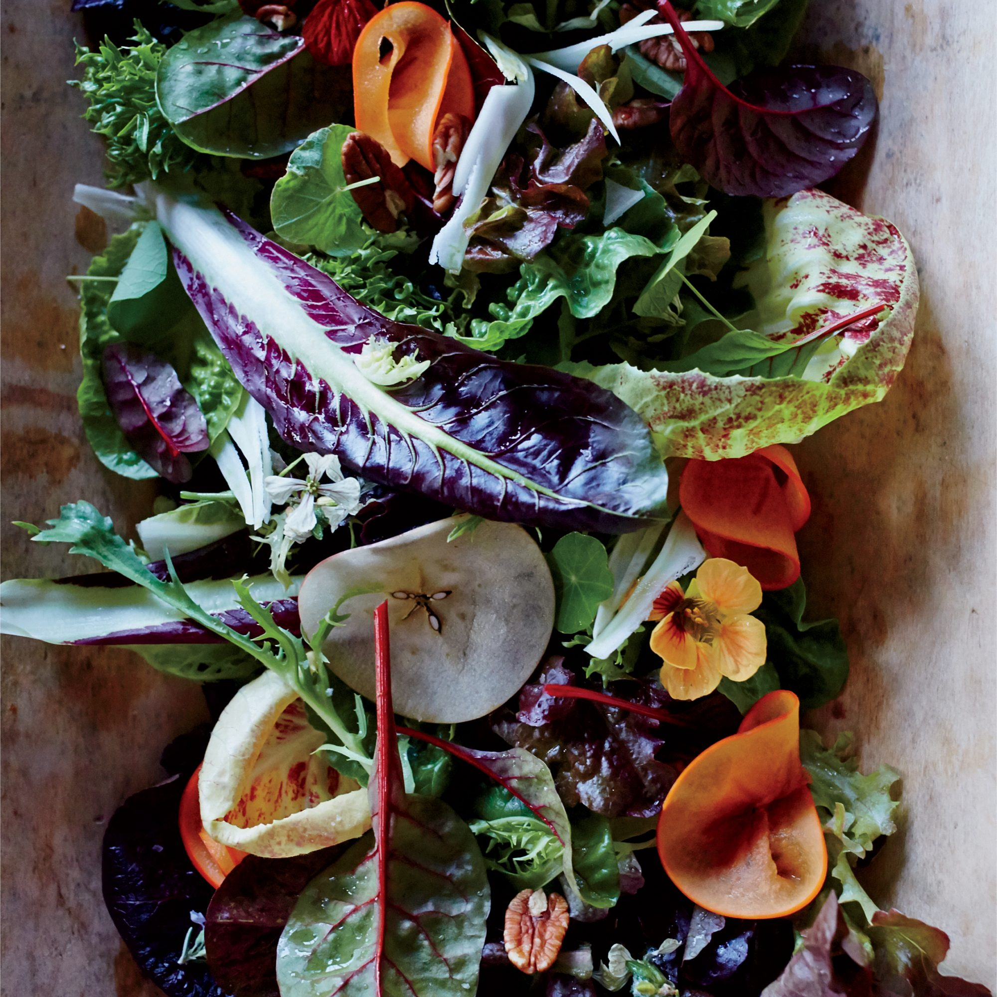 Fall Salad with Sherry Vinaigrette