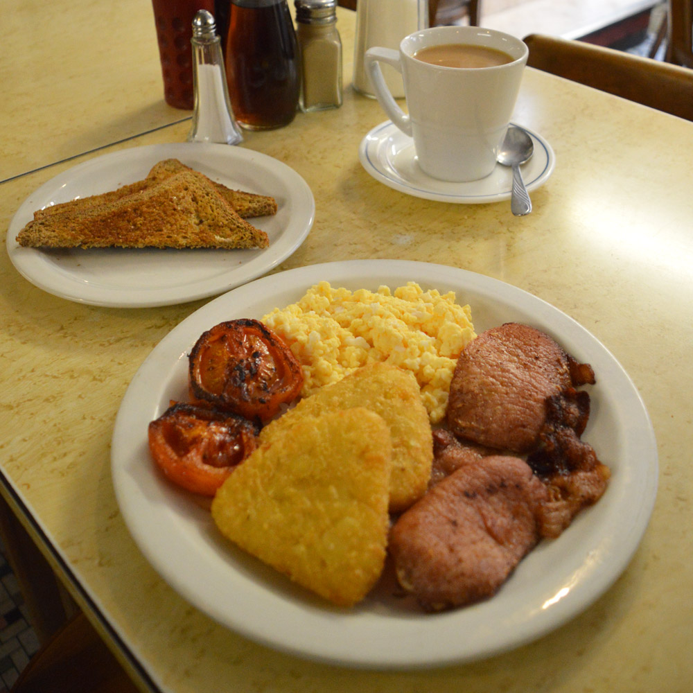 River Cafe greasy spoon london