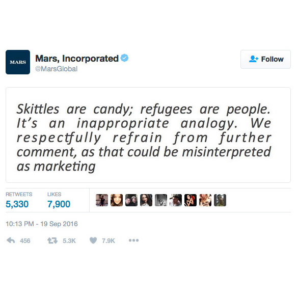 Skittles got into it with Donald Trump Jr.