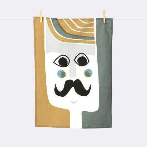 Mr. Tea Towel, $17