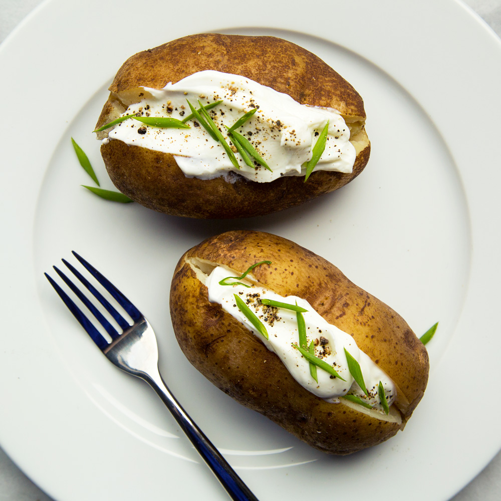 Crock-Pot Baked Potatoes