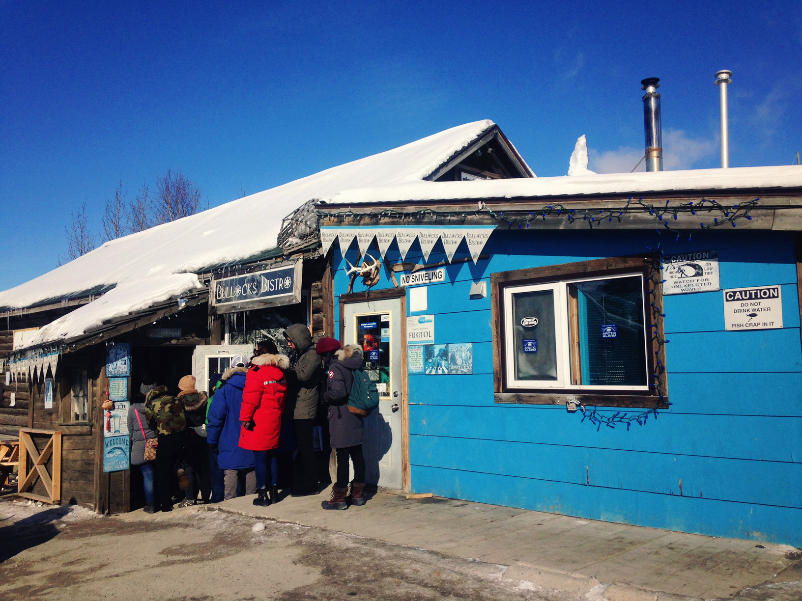 Bullocks' Bistro: Yellowknife, Northwest Territories