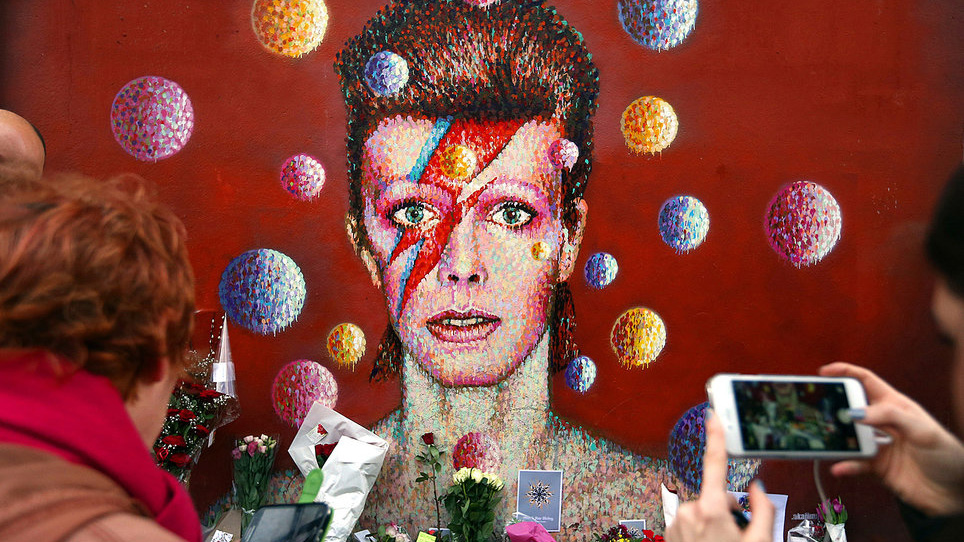 Bowie Mural in Brixton