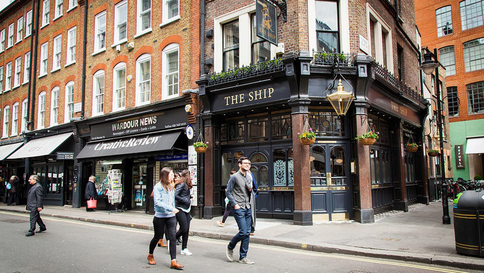 The Ship / 116 Wardour St