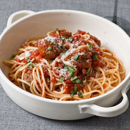 Classic Spaghetti with Meatballs