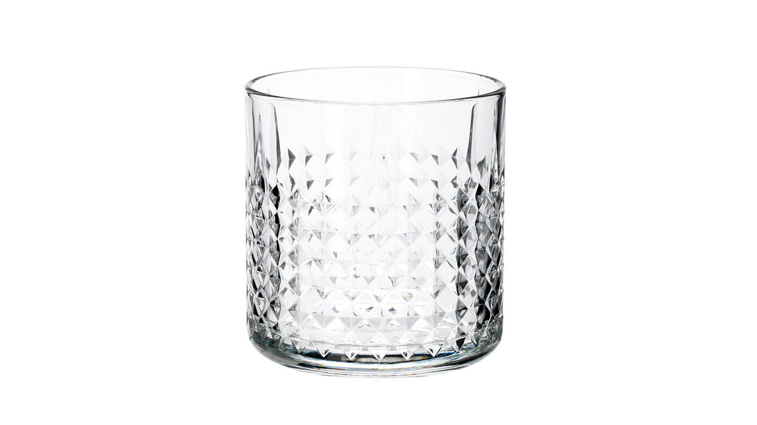 A respectable whiskey glass