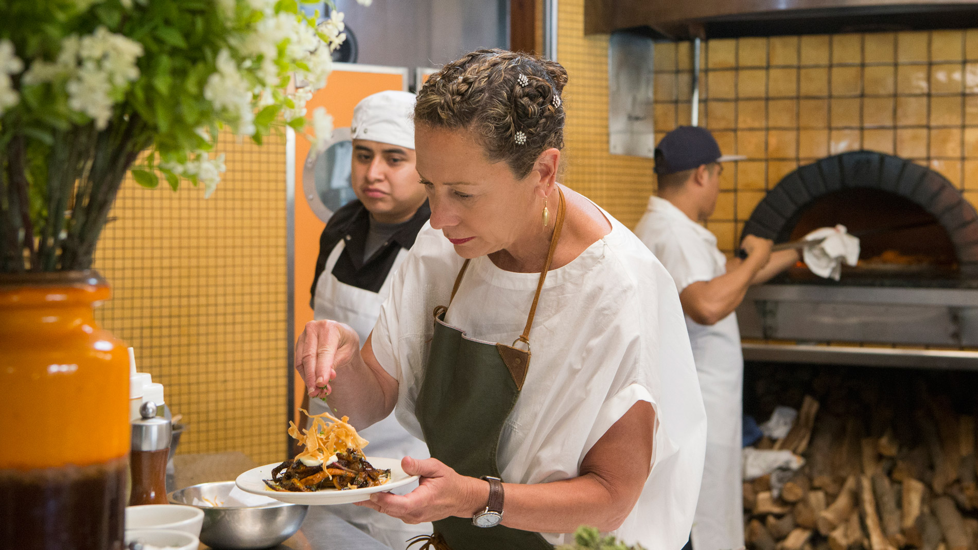 Nancy Silverton, Mozza Restaurant Group with locations in California and Singapore