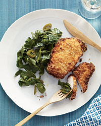 March 13: Coconut Chicken with Pickled Pepper Collards