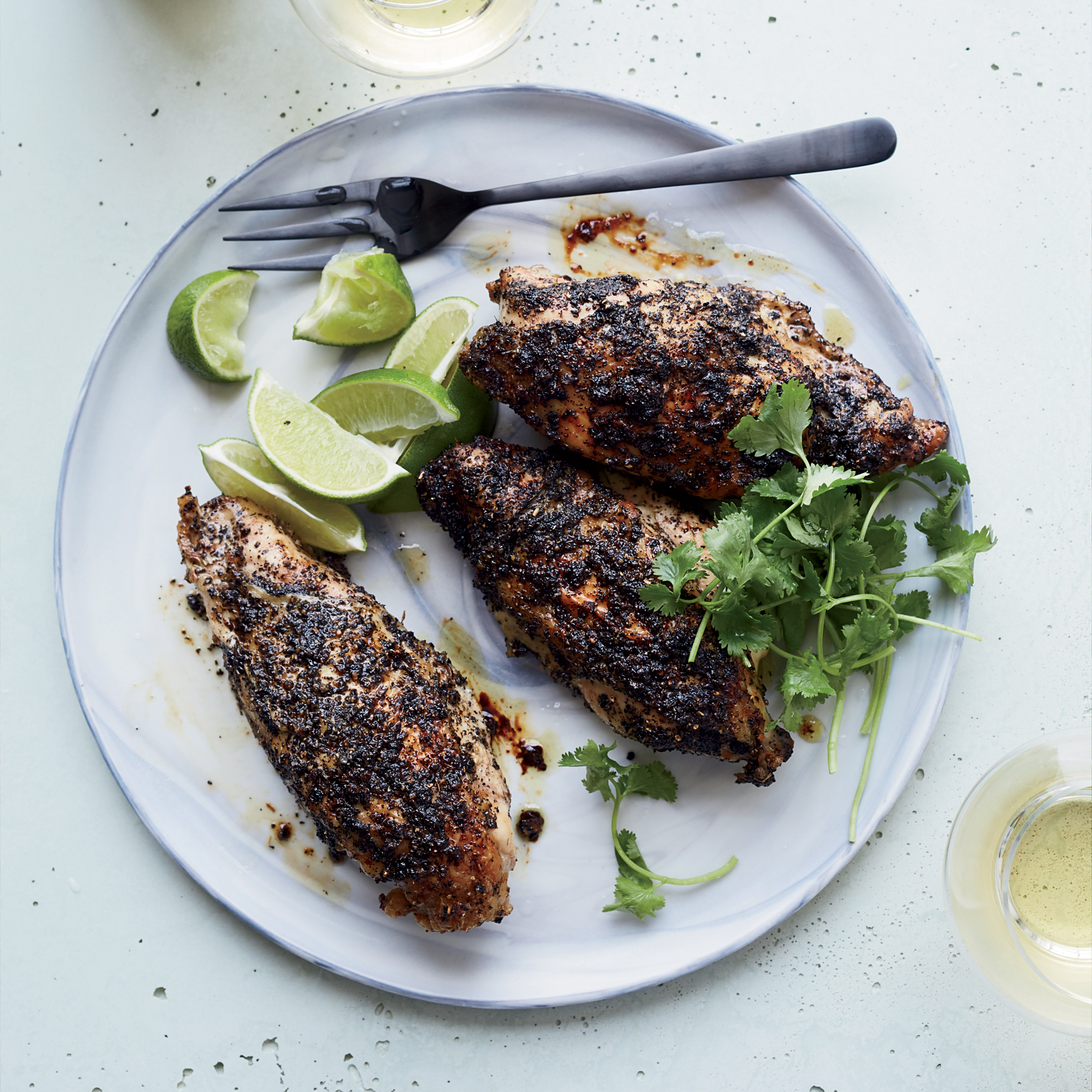 Chai-Spiced Chicken Breasts