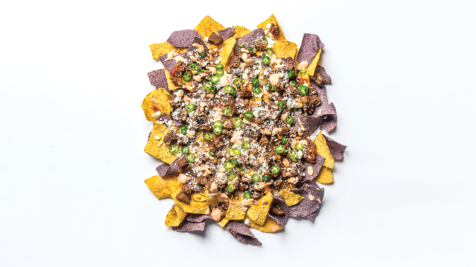 Ed Lee: Gochujang Chili-Cheese Nachos