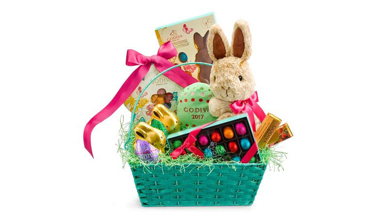 Godiva Enchanted Easter Basket