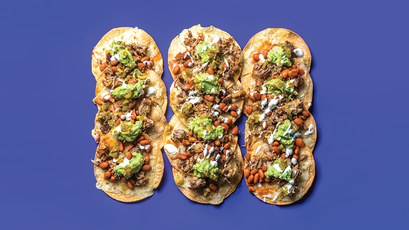 Jorma Taccone and Marielle Heller: East Bay Burrito Nachos