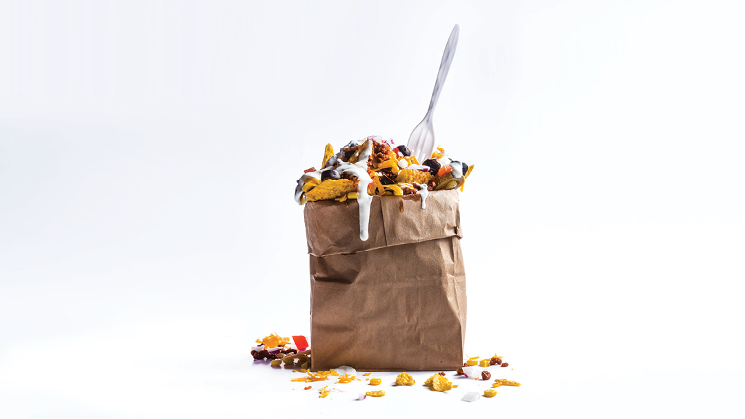 Kristen Kish: Nachos in a Bag