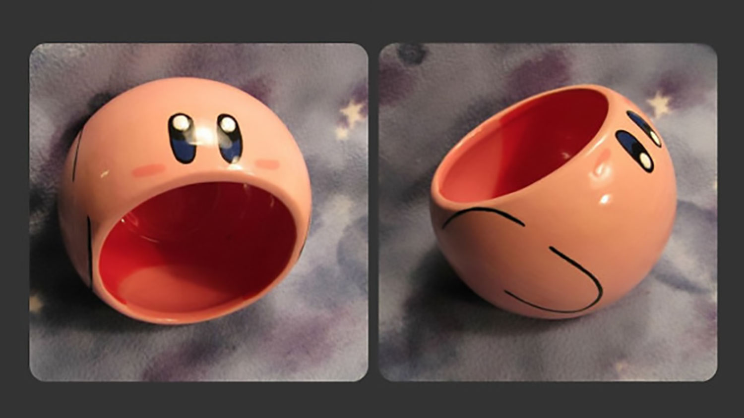 Tilted Kirby Bowl