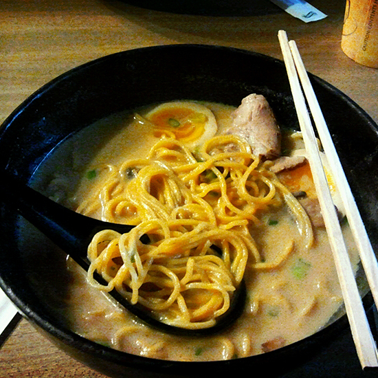 Best New Ramen Shops: Ramen Underground
