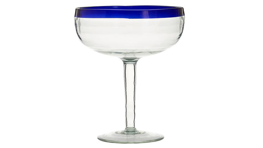 The margarita glasses: