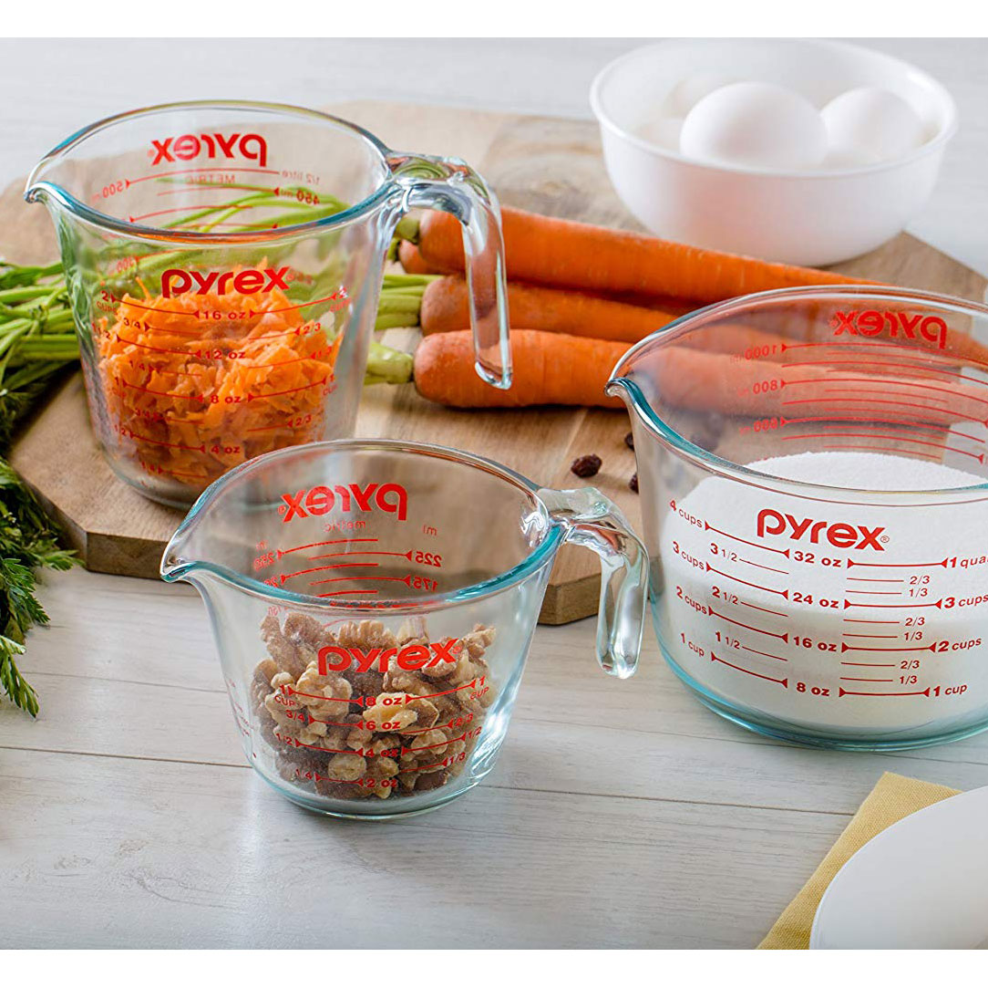 The measuring cups: