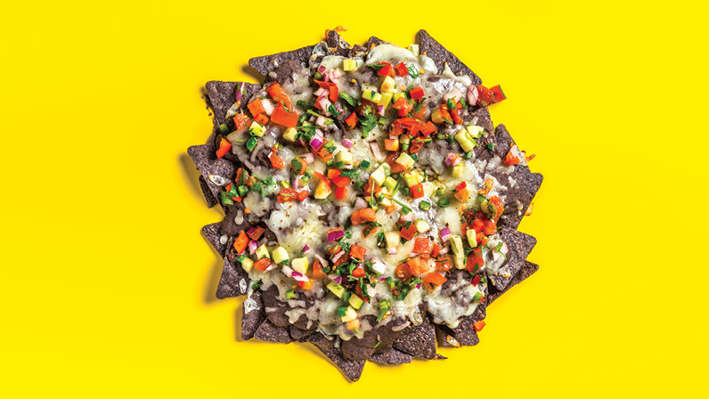 Rachael Ray: Black & Blue Nachos