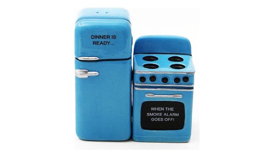 Fridge and Stove Salt and Pepper Shakers