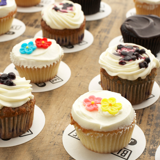 America's Best New Cupcakes: Blue Smoke Bake Shop, New York City