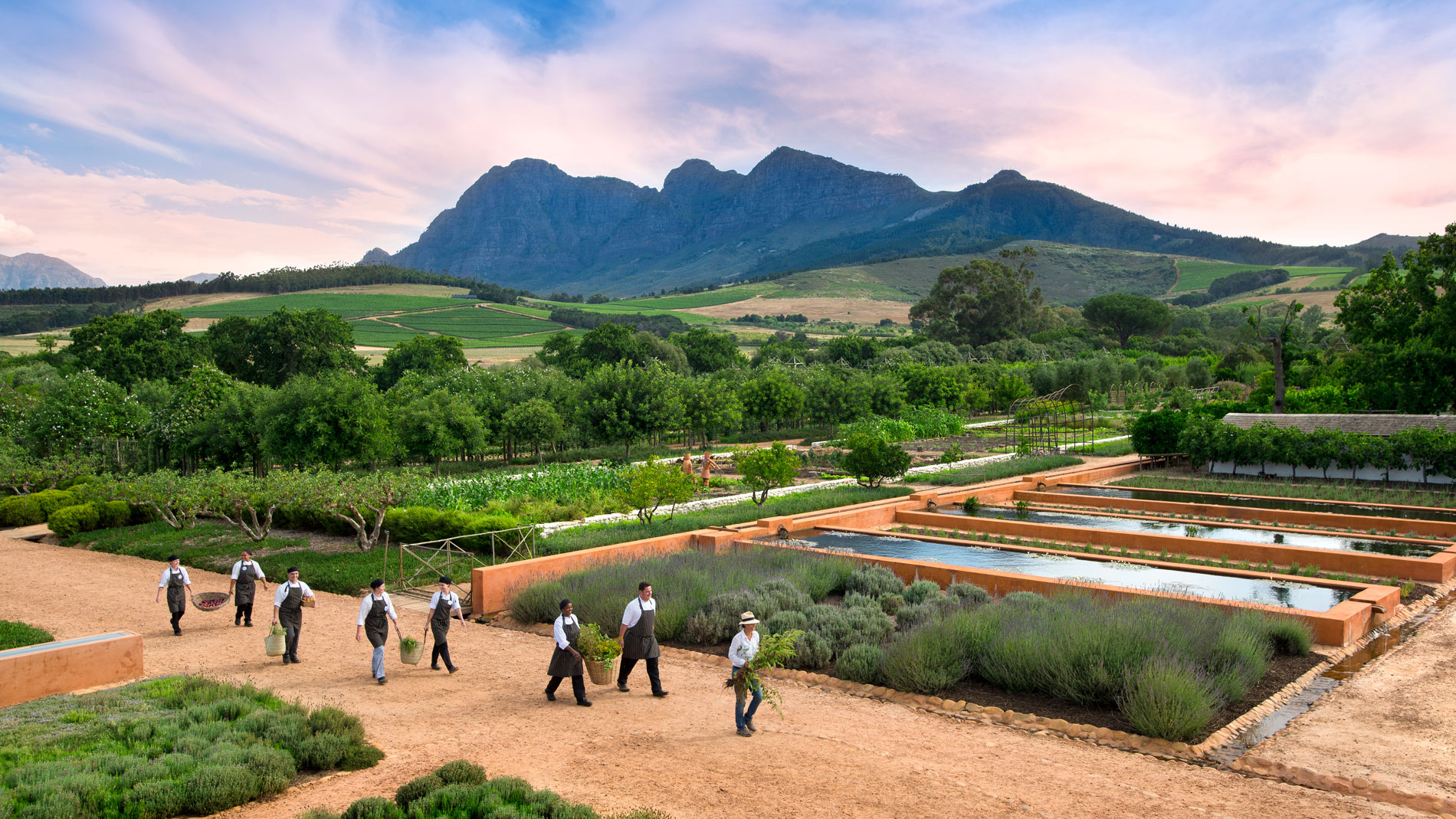 Babylonstoren, Cape Town, South Africa