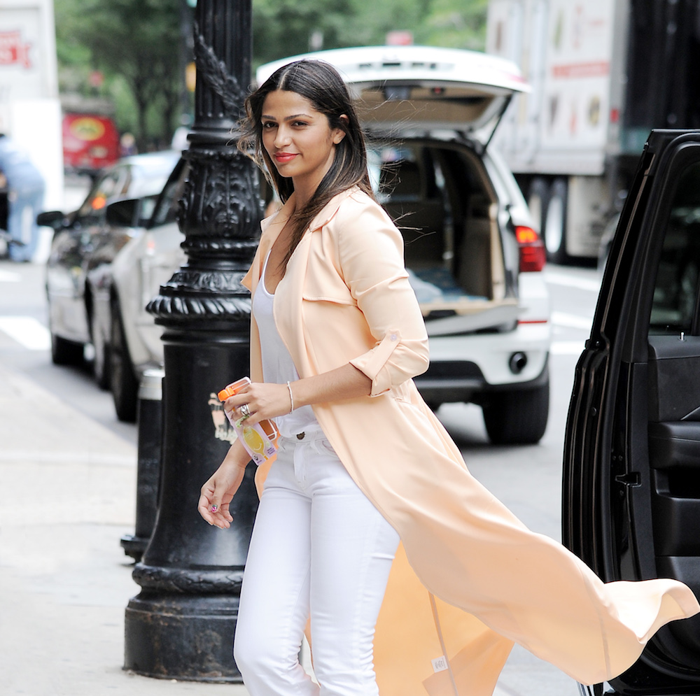 Camila Alves seen out in New York City
