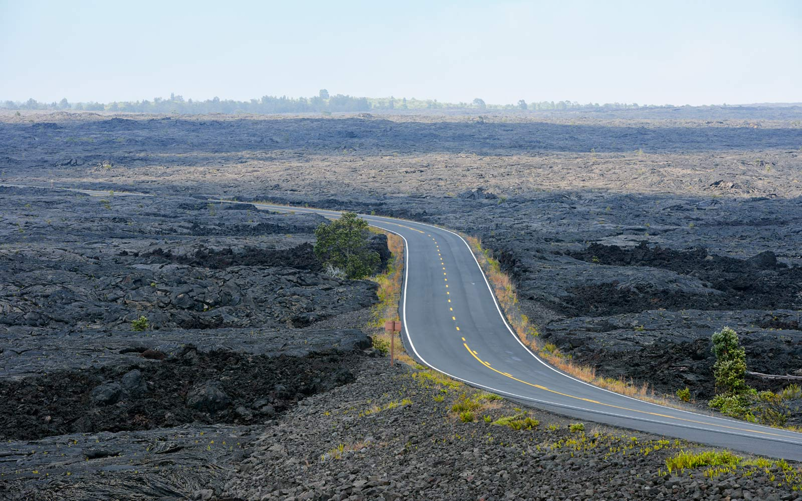 Chain of Craters Road, Volcanoes National Park, Big Island, Hawaii