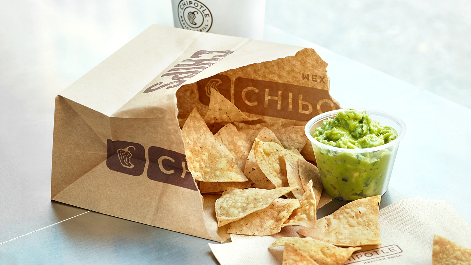 chipotle free chips and guac
