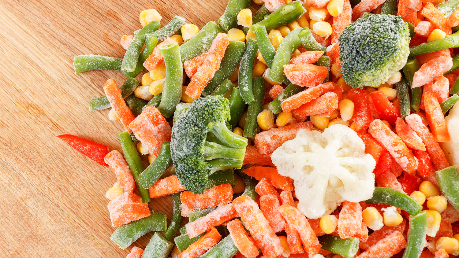 frozen vs non frozen vegetables