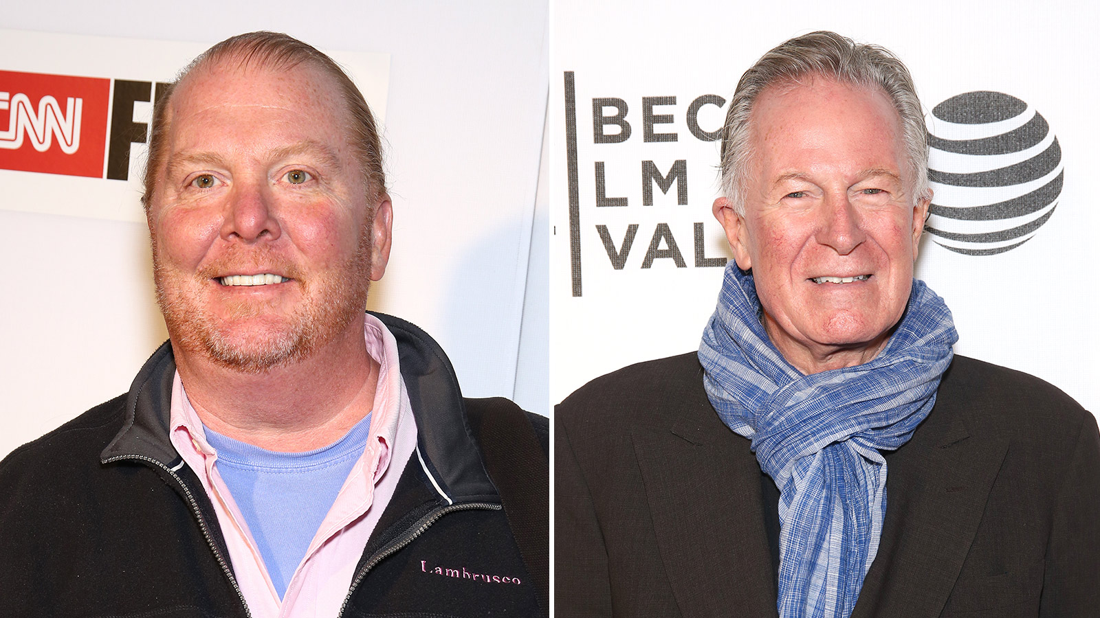 Mario Batali and Jeremiah Tower