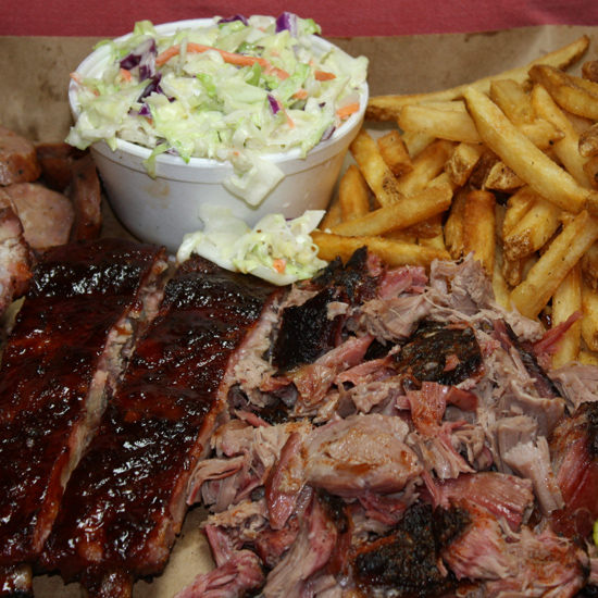 Best BBQ: Oklahoma Joe's