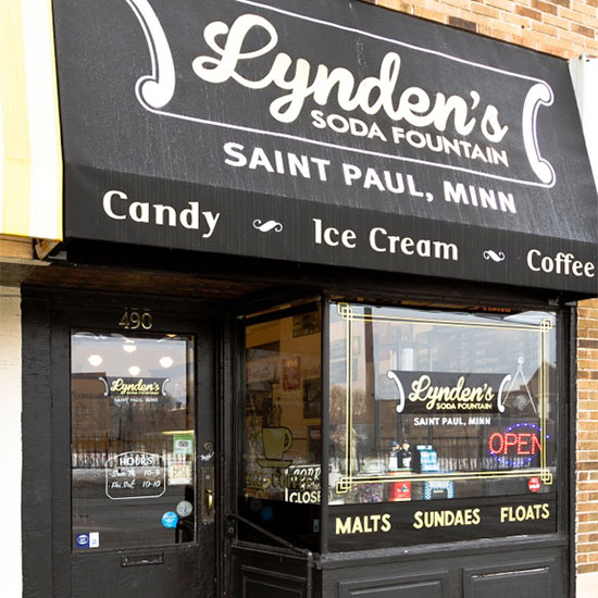 Lynden's Soda Fountain; St. Paul