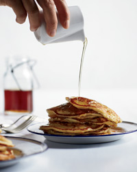 Buttermilk Pancakes with Masa Harina