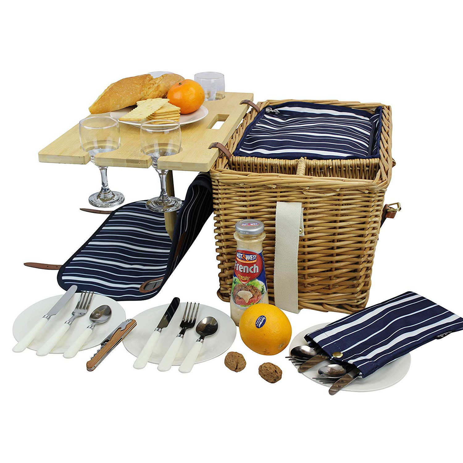 picnic basket from amazon