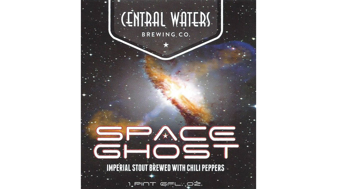Central Waters Space Ghost Stout