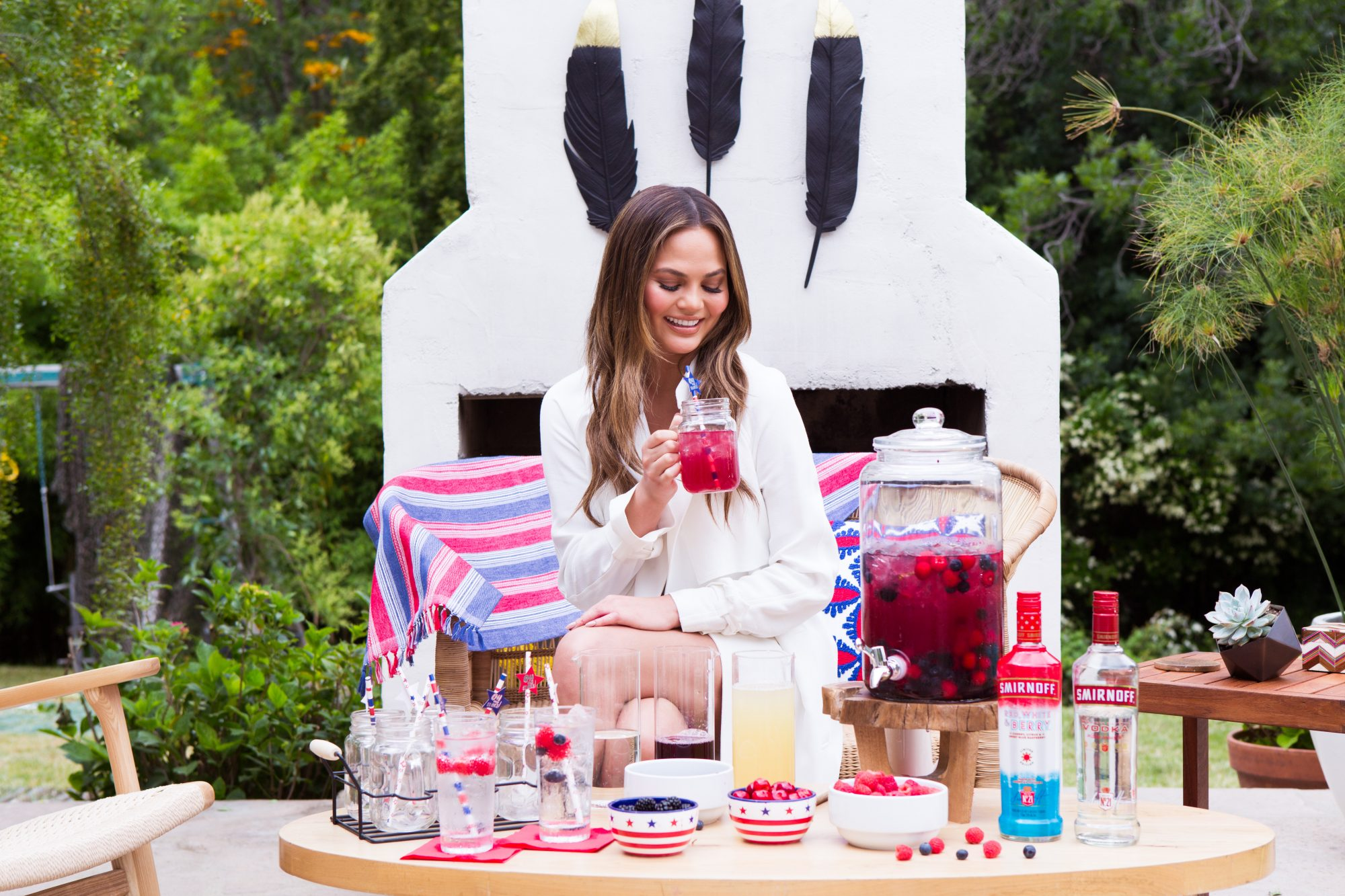 How Chrissy Teigen Is Finishing Her New Cookbook While on Tour with John and Luna