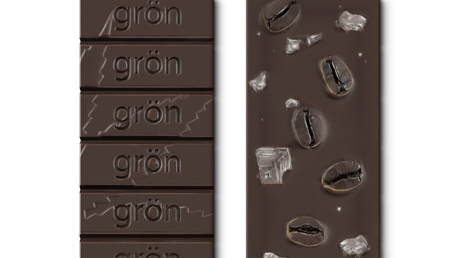 Grön Chocolate-Covered Espresso Beans