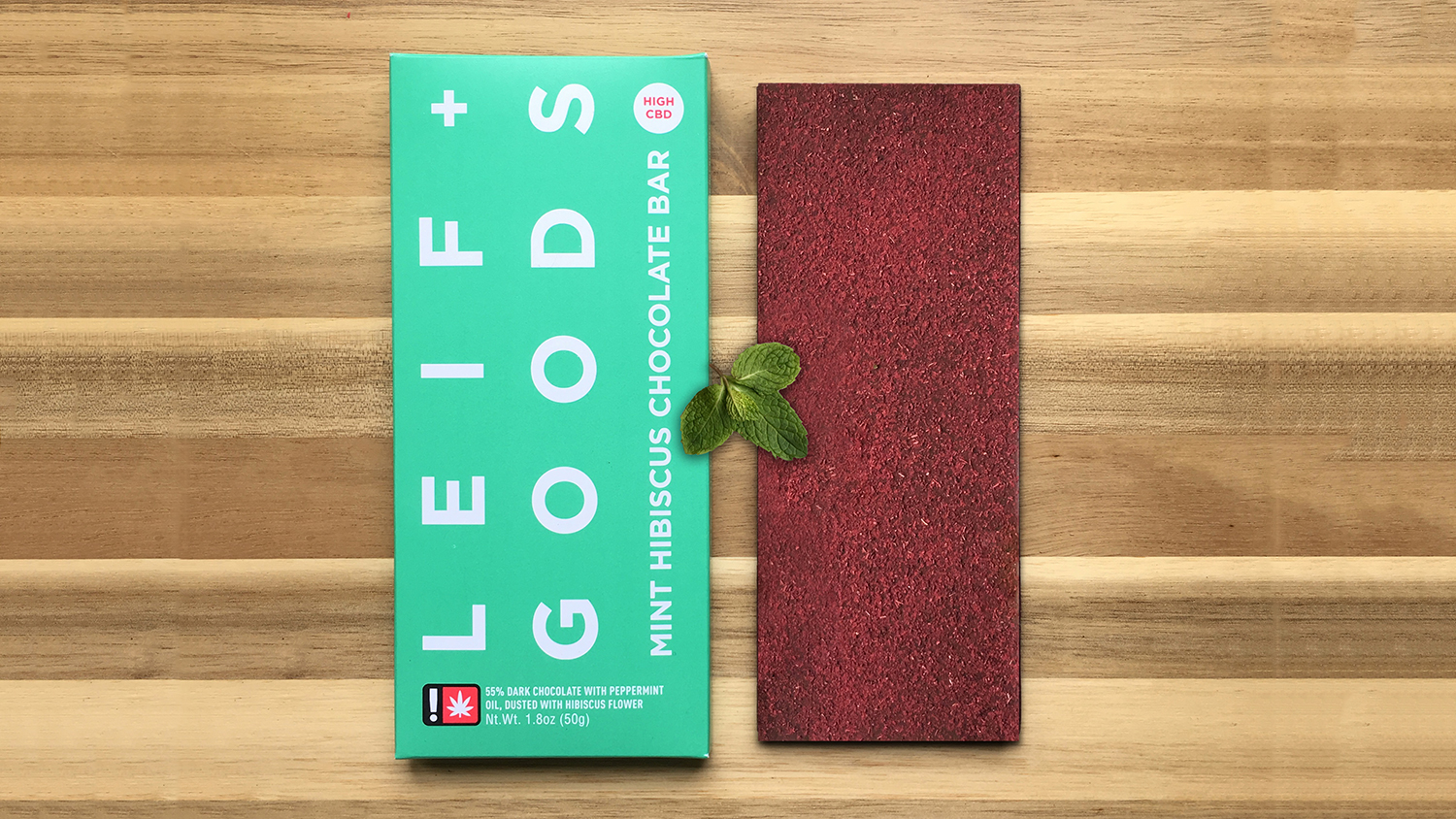 Leif Goods Mint Hibiscus Bar