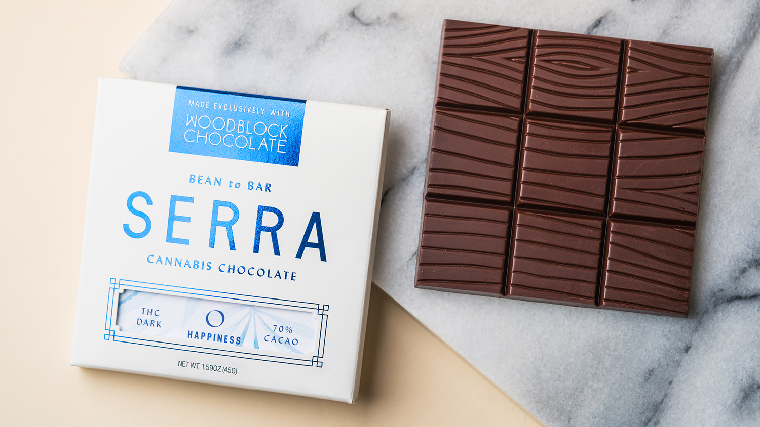 Serra + Woodblock Chocolate